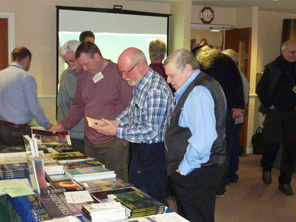 Books galore for sale on every astro subject you can think of and DAS members were keen to buy.
