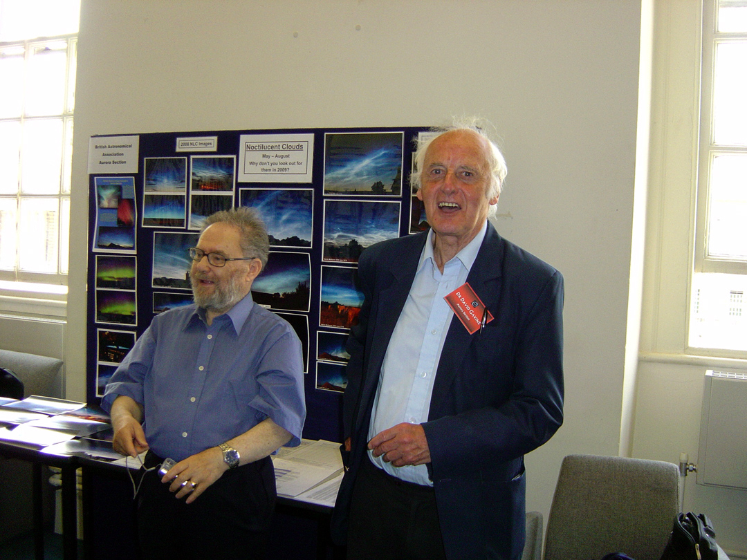 June 2009 at the BAA Exhibition with Harry Ford.