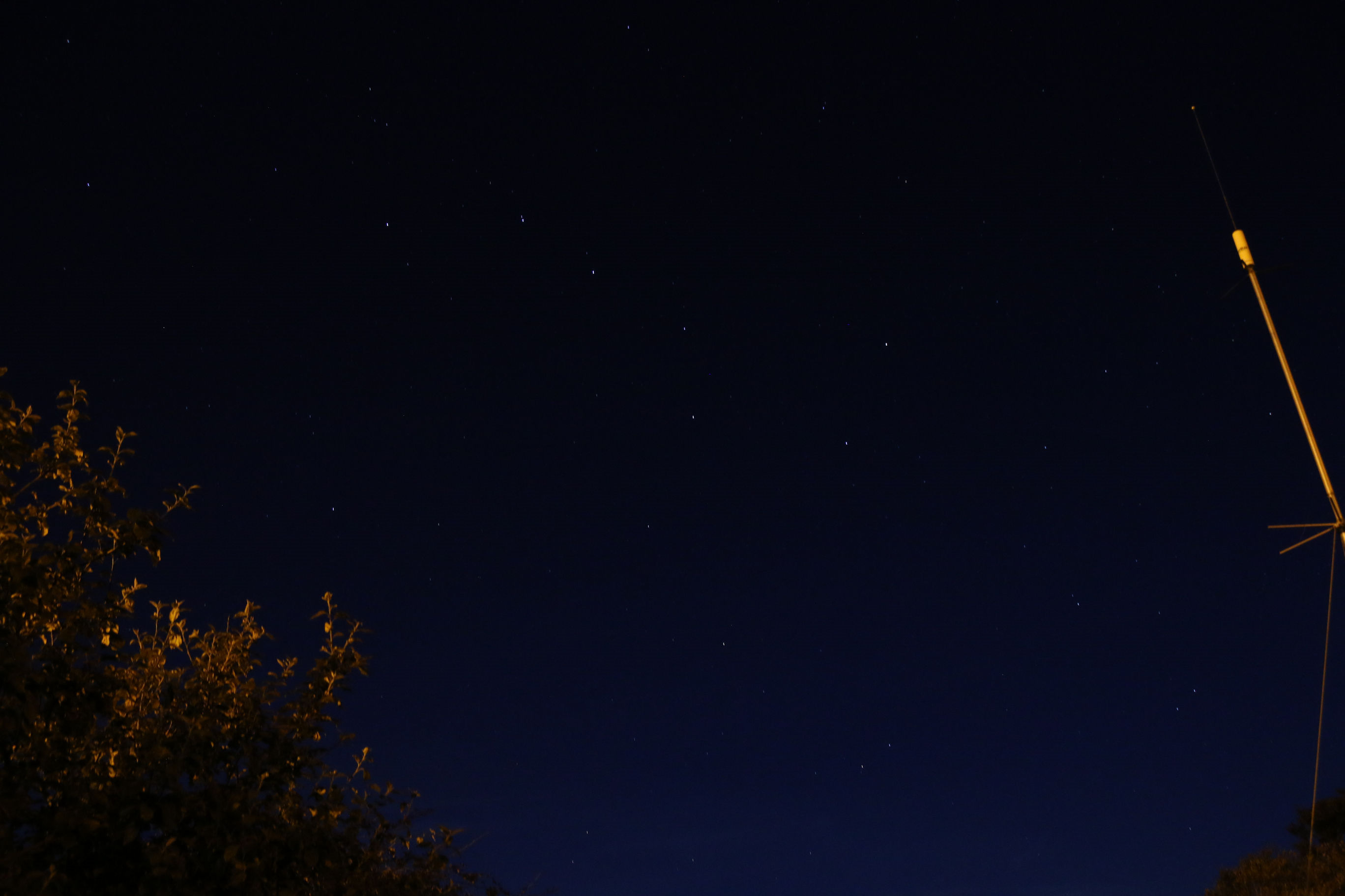 "The plough Asterism  by Jim Barber. 14 August 2016 2303pm. Canon EOS 70D, f/5.6:  5 second exp, ISO-1600: 18mm focal length.  ""What a great night last night! Beautiful clear sky, great seeing, but no meteors??.Anyway took the camera out and got some great shots emulating Andy with the Coathanger and the plough.""  Jim Barber"