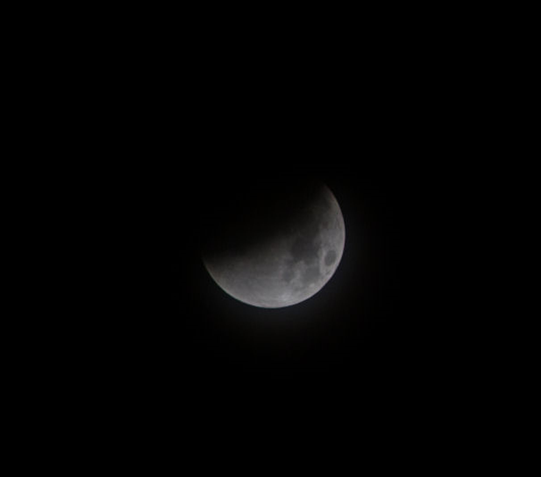 Lunar Eclipse By Andy Heenan .  Canon EOS 6000D f/5.6.  1/160th second.  ISO-200
