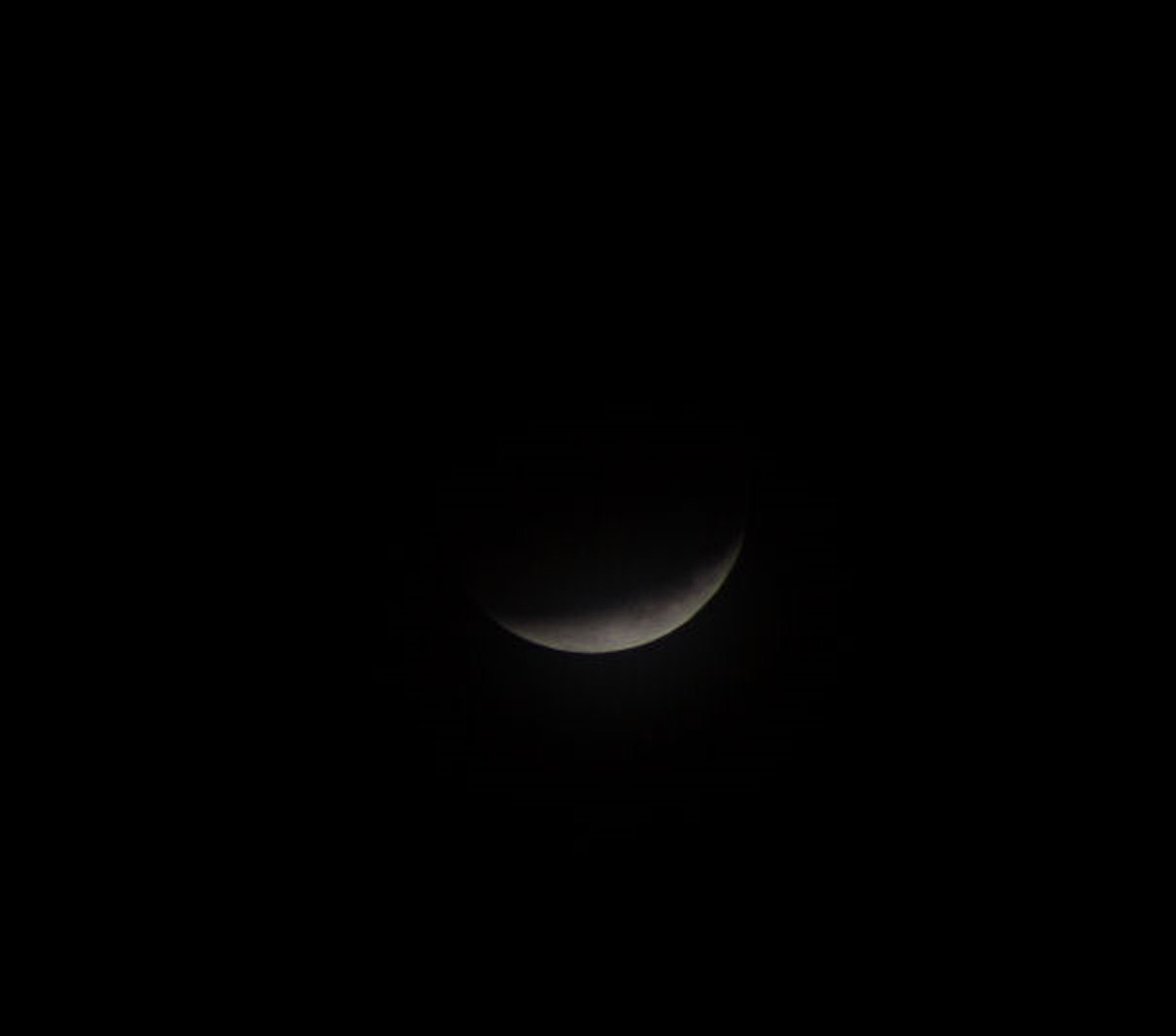 Lunar Eclipse By Andy Heenan .  Canon EOS 6000D f/5.6.  1/40th second.  ISO-400