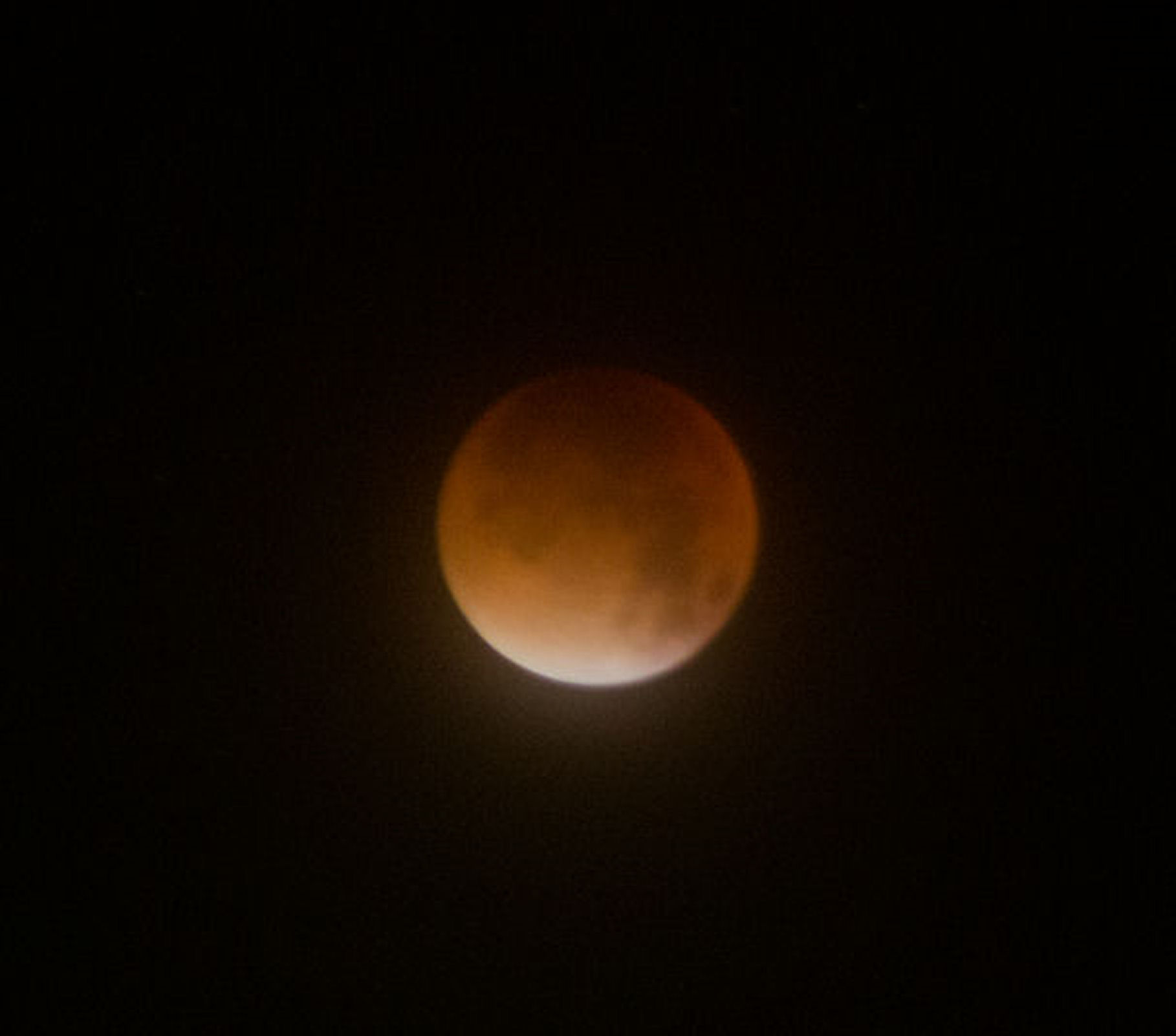 Lunar Eclipse By Andy Heenan .  Canon EOS 6000D f/5.6.  6 seconds.  ISO-1600