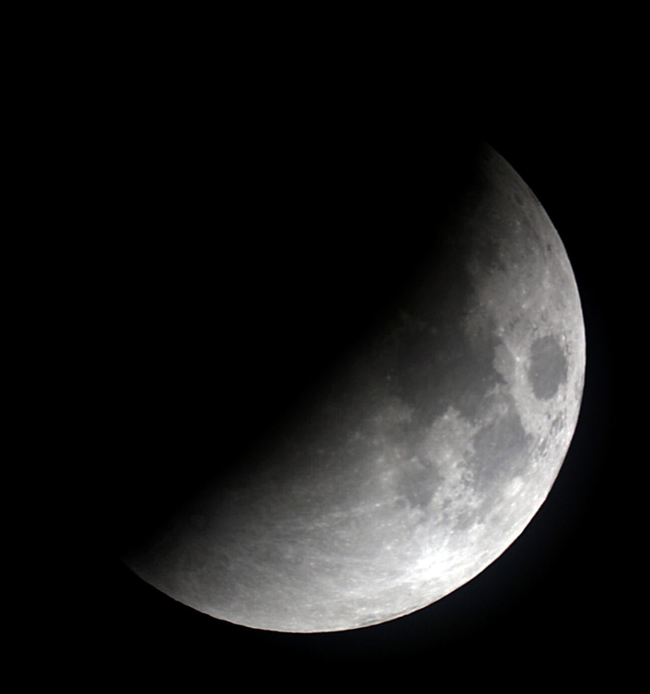 Lunar eclipse By Ken Kennedy. Canon EOS100D 1/125 seconds  ISO-200.