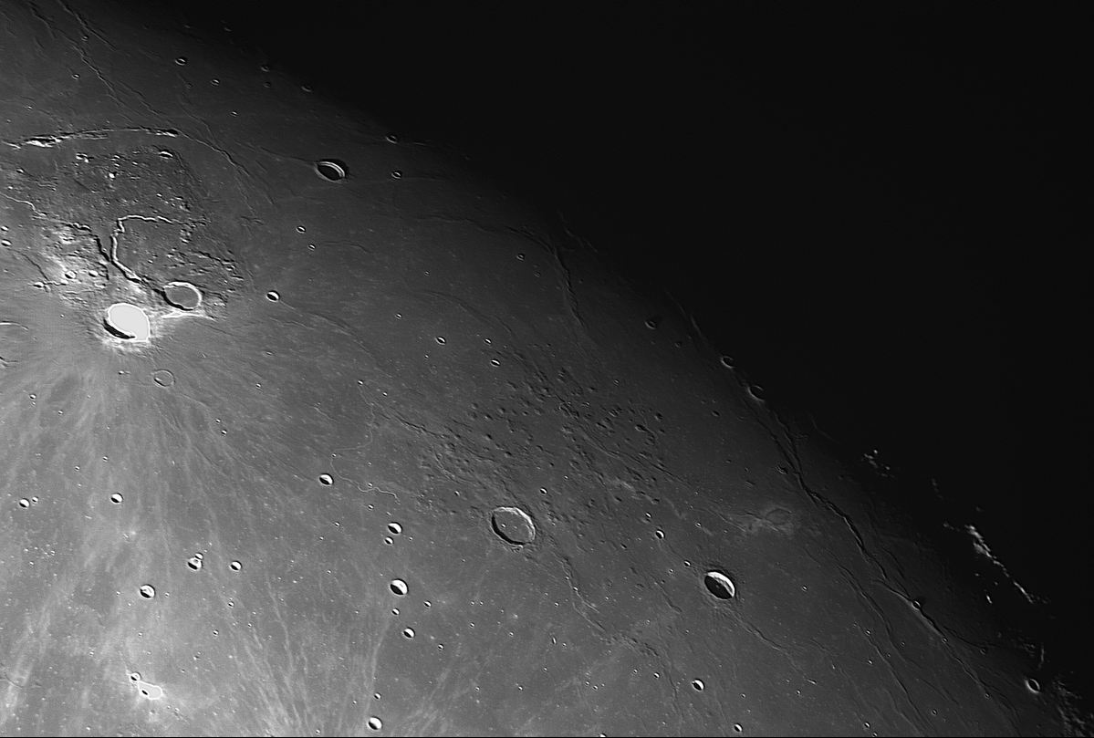 About 100 domes near the Marius crater By Phil Rourke March 2020